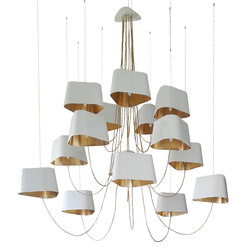 Nuage Chandelier 15 large | Lighting objects | designheure