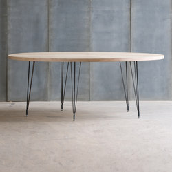 Sputnik Birch Multiplex Table | Restaurant tables | Heerenhuis