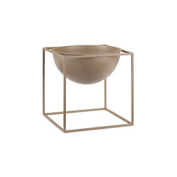 Kubus Bowl Beige Large | Schalen | by Lassen