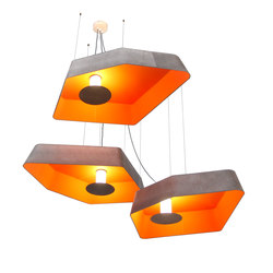 Nenuphar Trio Pendant light large LED | Suspended lights | designheure