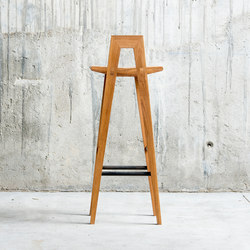 Grable high stool | Sgabelli bancone | QoWood