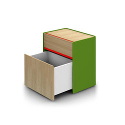 Landa 2 Drawer Unit | Cassettiere | Alki