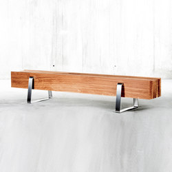 Long Bench | Gartenbänke | QoWood