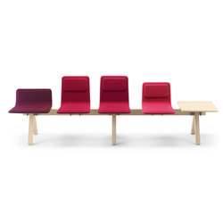 Laia Seating Beam | Bancs | Alki
