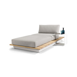 Air concept 5 lounger | Seating islands | Manutti