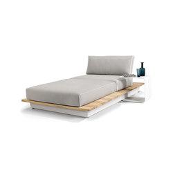 Air concept 5 lounger | Sitzinseln / -Liegeinseln | Manutti