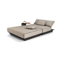 Air concept 5 lounger aluminium | Seating islands | Manutti
