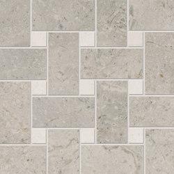 Gotha platinum mesh mounted | Mosaics | Ceramiche Supergres