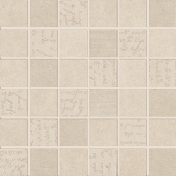 Smart Town ivory mosaic | Mosaici | Ceramiche Supergres