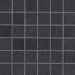 Stockholm svart mosaic | Ceramic mosaics | Ceramiche Supergres