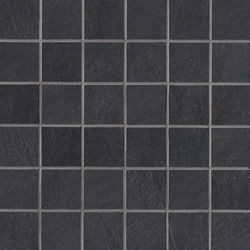 Stockholm svart mosaic | Mosaics | Ceramiche Supergres