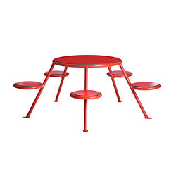 Buzz | Benches with tables | Vestre