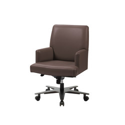 Isotta office chair with arms | Home office | Promemoria