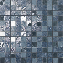 Four Seasons ocean | Ceramic mosaics | Ceramiche Supergres