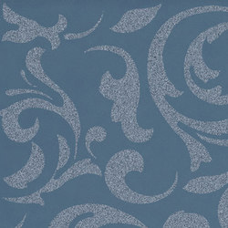 Melody blue ramage | Ceramic tiles | Ceramiche Supergres