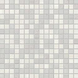 RE.SI.DE bardiglio madera mosaico | Mosaici | Ceramiche Supergres