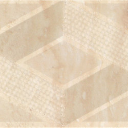 Selection travertino rombi listello | Carrelage mural | Ceramiche Supergres