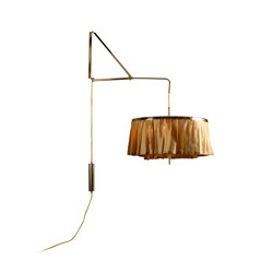 Plissee wall lamp | General lighting | Woka