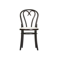 16 Chair upholstered | Sillas para restaurantes | TON