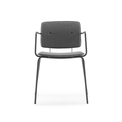 Don Chair upholstered with armrests | Sedie | ONDARRETA