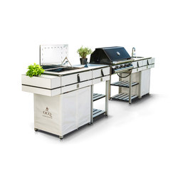ocq Modular | Edition White bbq | Barbecues | OCQ