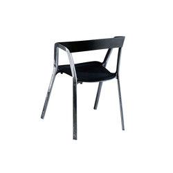 Compas Shiny petit fauteuil | Chaises de restaurant | Kristalia