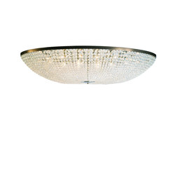 Magnificient Oval Beaded Chandelier | Plafonniers | Woka
