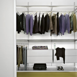 Dot wandrobe | Walk-in wardrobes | Kristalia