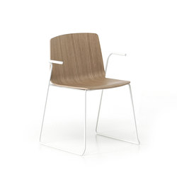 Rama Slide Base | Restaurant chairs | Kristalia