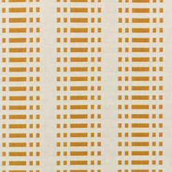 Nereus Ochre reverse | Drapery fabrics | Johanna Gullichsen