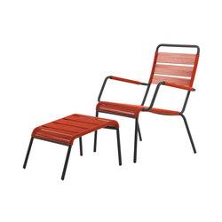 Camargue Armchair with footstool | Garden armchairs | Unopiù