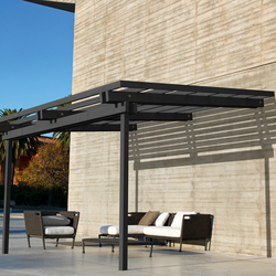 solange pergola pergolas by unopi architonic. Black Bedroom Furniture Sets. Home Design Ideas