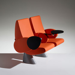 Tulip Armchair on beam | Benches | Lamm