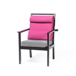 Santiago Single armchair | Poltrone | TON