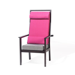 Santiago Single-high armchair | Sillones | TON