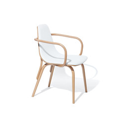 Tram Armchair upholstered | Restaurant chairs | TON