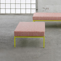 grazia | Modular seating elements | Isabel Bürgin