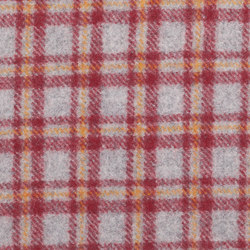 Vilnius Checks orange red | Fabrics | Steiner