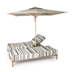 New Hampton double Sun lounger | Lettini giardino | Weishäupl