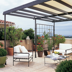 shibuya pergola by unopi pergolas architonic. Black Bedroom Furniture Sets. Home Design Ideas