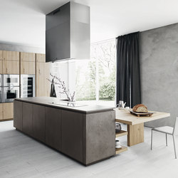 Cloe | Composition 3 | Fitted kitchens | Cesar Arredamenti
