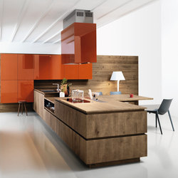 elle | composition 1 - fitted kitchens from cesar arredamenti