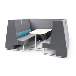 Le Mur compartment | table | Brainstorming / Short meetings | Materia