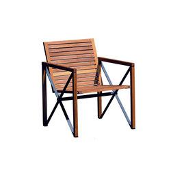Xylofon armchair | Garden chairs | Magnus Olesen