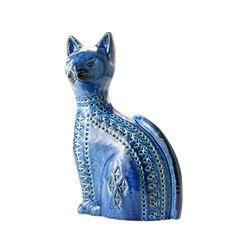 Rimini Blu Figura gatto alto | Objects | Bitossi Ceramiche