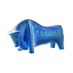 Rimini Blu Figura Toro | Objects | Bitossi Ceramiche