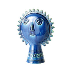 Rimini Blu Figura sole | Objects | Bitossi Ceramiche
