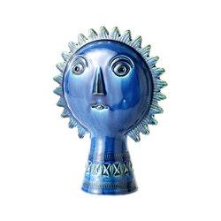 Rimini Blu Figura sole | Objetos | Bitossi Ceramiche