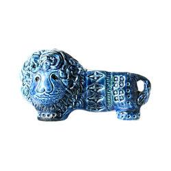 Rimini Blu Figura leone | Objects | Bitossi Ceramiche