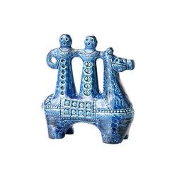 Rimini Blu Figura cavallerizzo | Objects | Bitossi Ceramiche